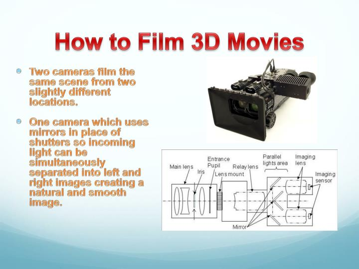 How to Film 3D Movies