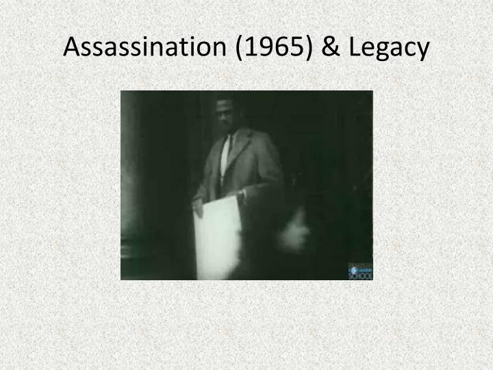 Assassination (1965) & Legacy