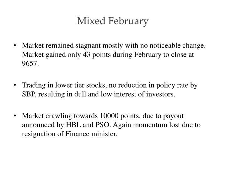 Mixed February