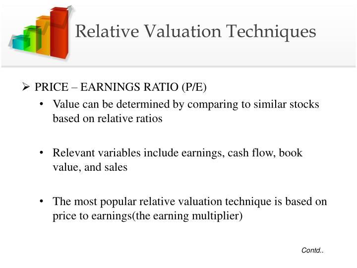 Relative Valuation Techniques