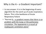 why is the a a gradient important