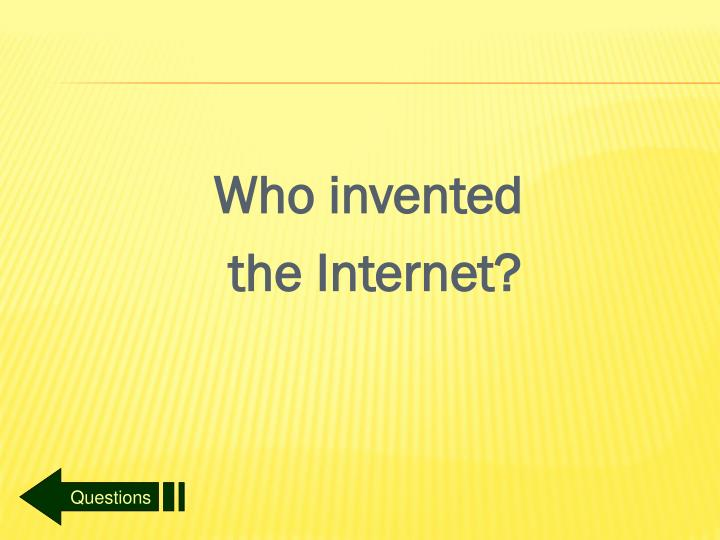 Who invented