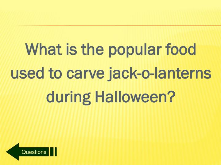 What is the popular food