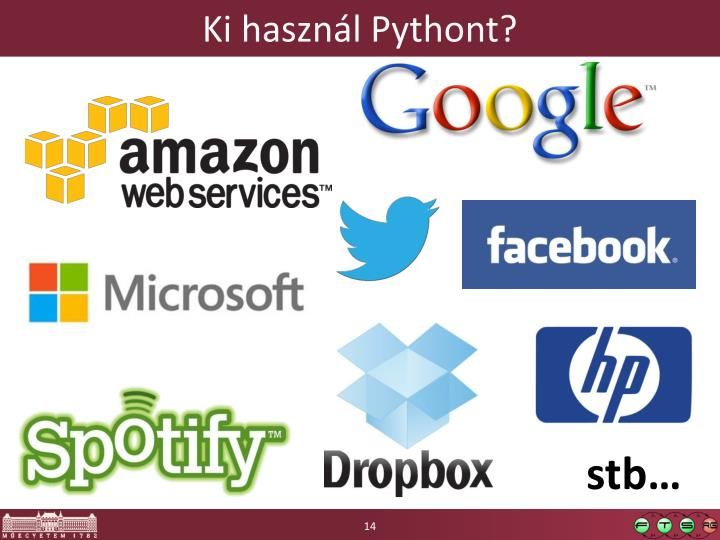 Ki használ Pythont?