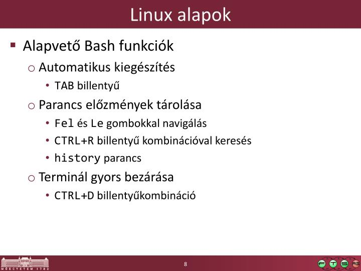 Linux alapok