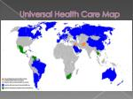 universal health care map