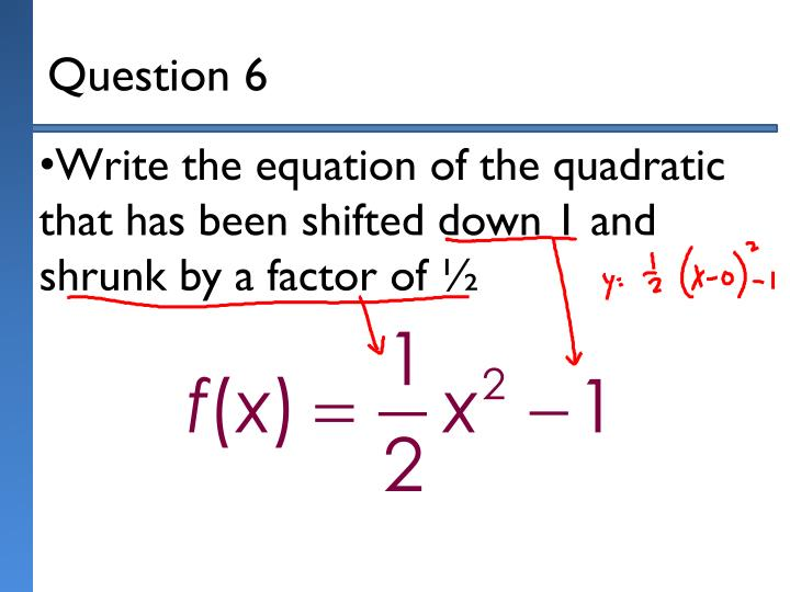 Question 6