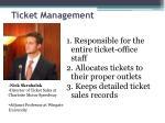 ticket management