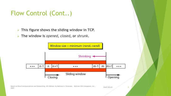 Flow Control (Cont..)