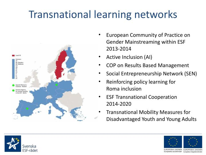 Transnational learning networks