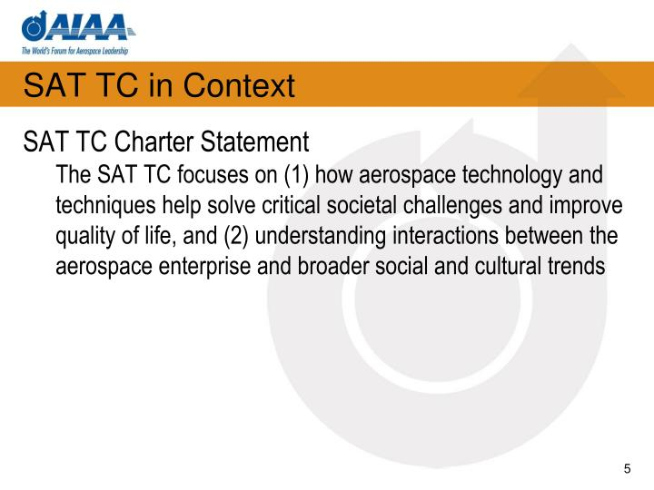 SAT TC in Context