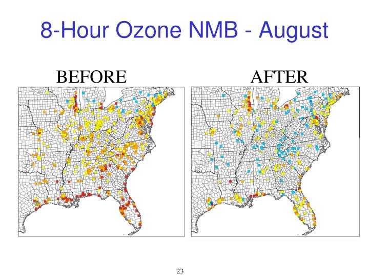 8-Hour Ozone NMB - August