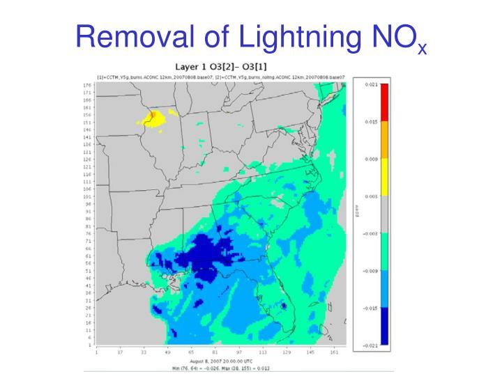 Removal of Lightning
