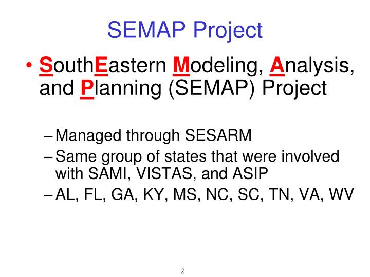 SEMAP Project