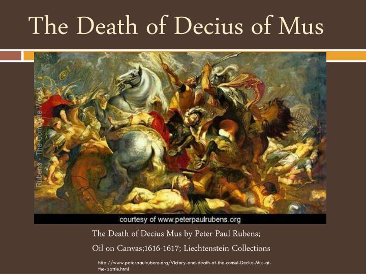 The Death of Decius of