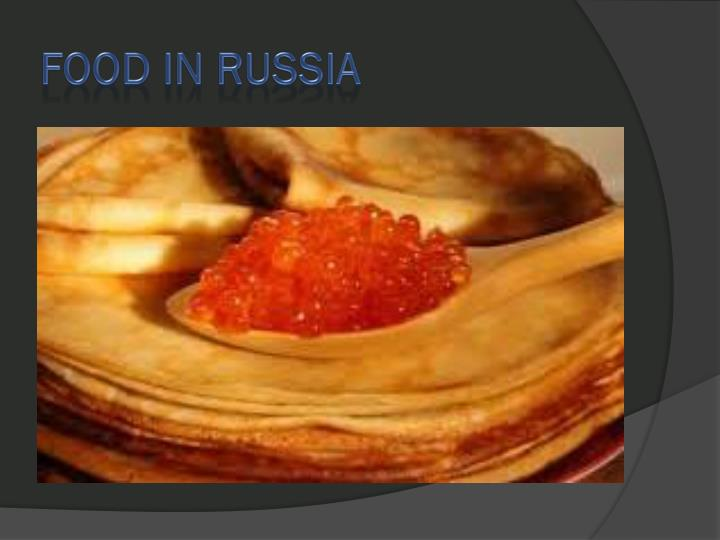 food in russia