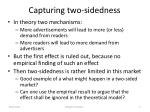 capturing two sidedness