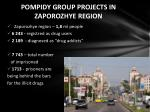 pompidy group projects in zaporozhye region