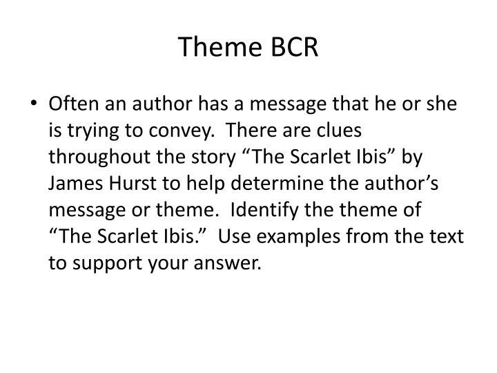 Theme BCR