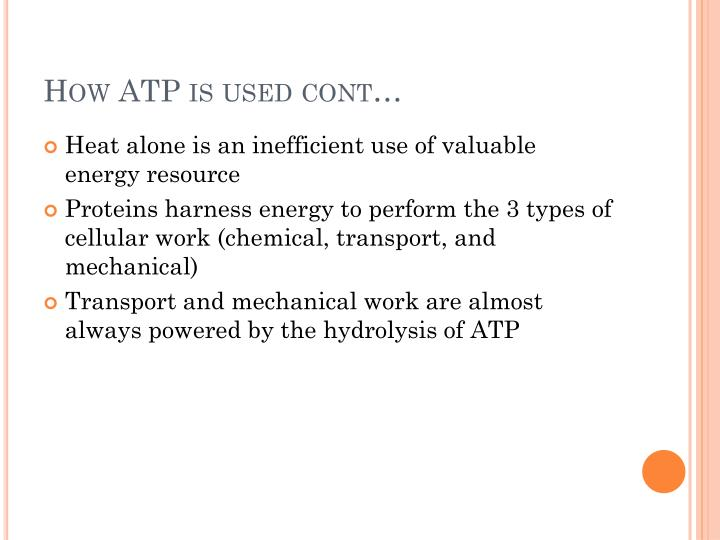 How ATP is