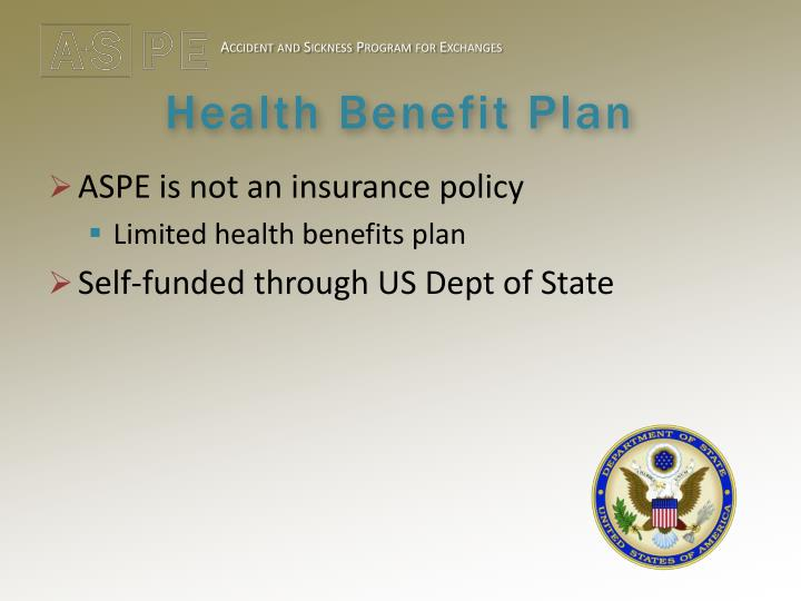 Health benefit plan