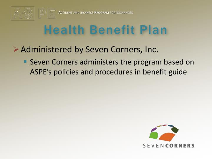 Health benefit plan1