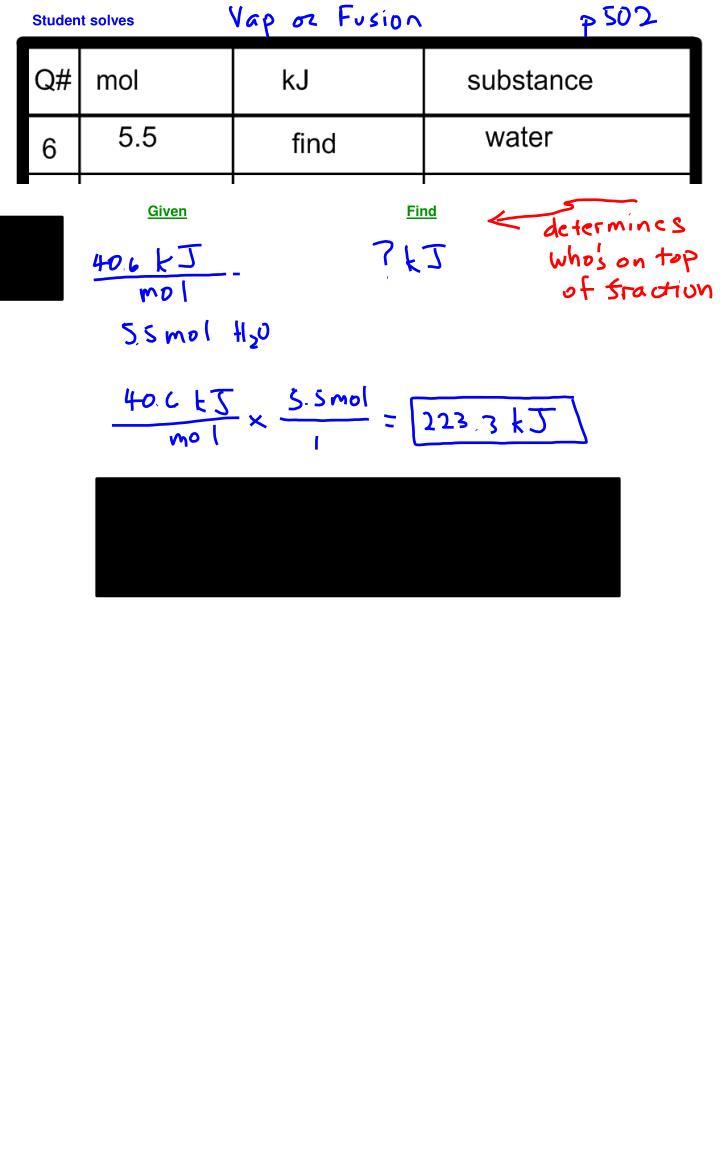 Student solves