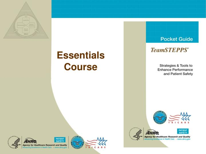 Essentials course