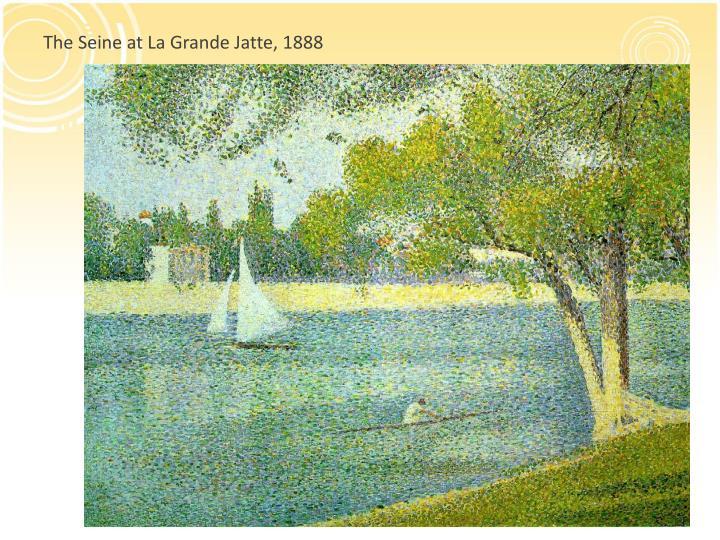 The Seine at La Grande
