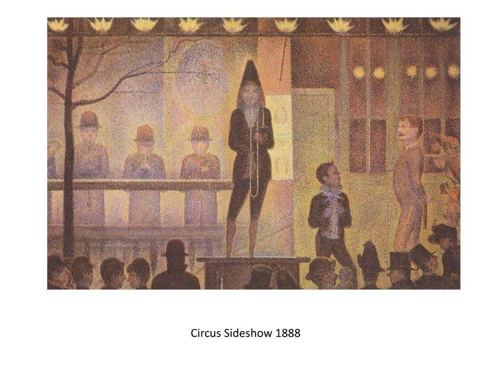Circus Sideshow 1888