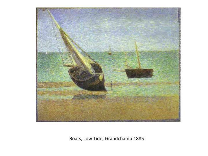 Boats, Low Tide,