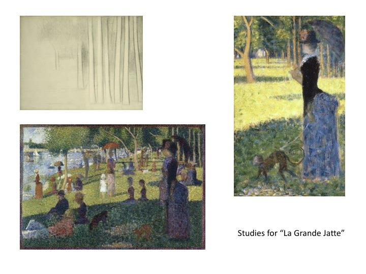 "Studies for ""La Grande"