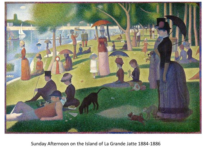 Sunday Afternoon on the Island of La Grande