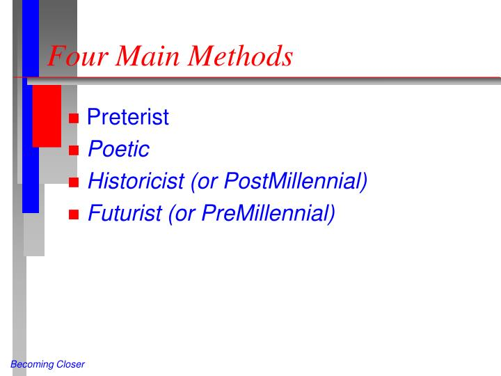 Four Main Methods
