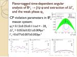 flavor tagged time dependent angular analysis of b o s j and extraction of s and the weak phase s