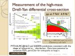 measurement of the high mass drell yan differential cross section
