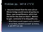 problem pp 347 8 c t d1