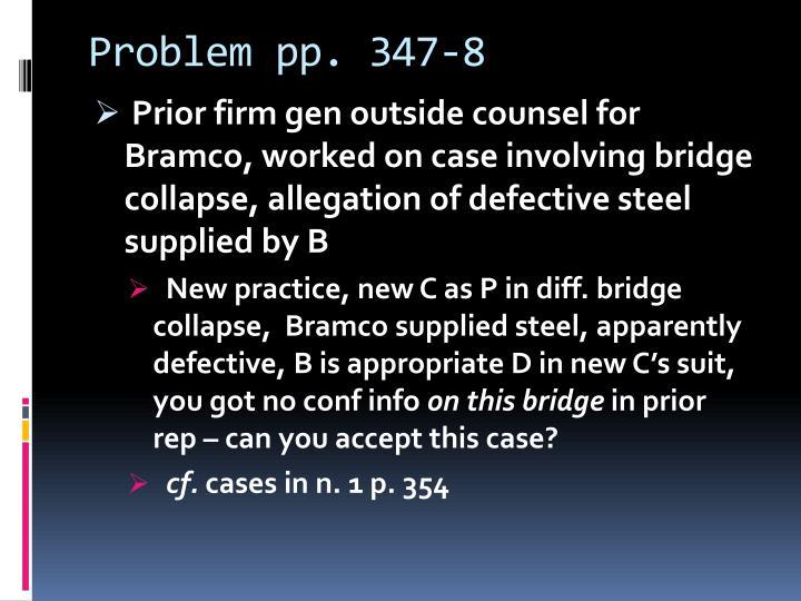 Problem pp. 347-8