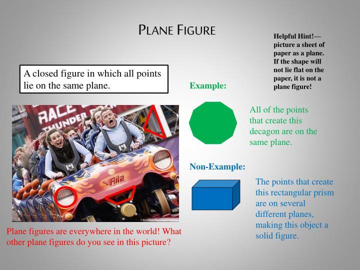 Plane Figure