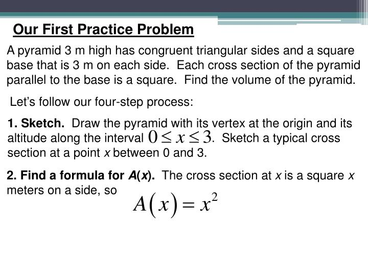 Our First Practice Problem