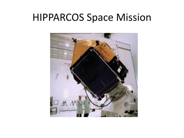 HIPPARCOS Space Mission