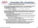 association fks introduction