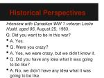 historical perspectives3