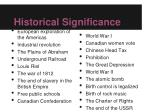 historical significance1