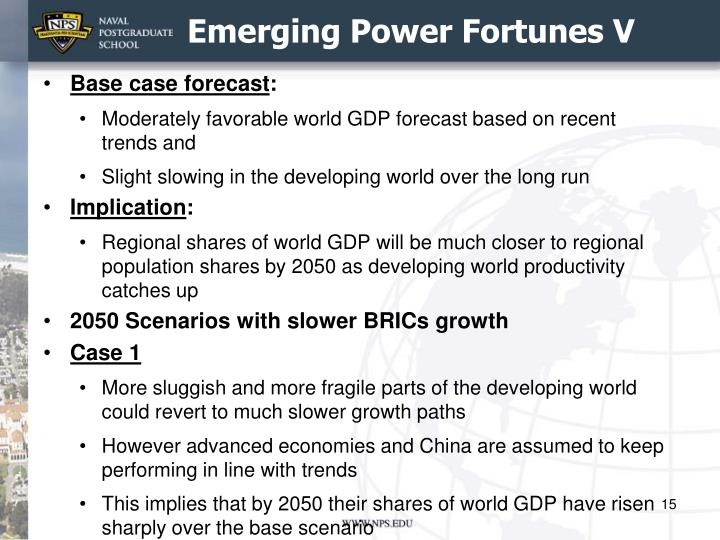 Emerging Power Fortunes V