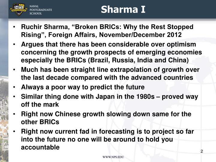 Sharma I