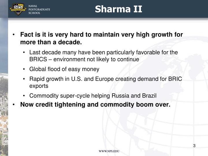 Sharma II