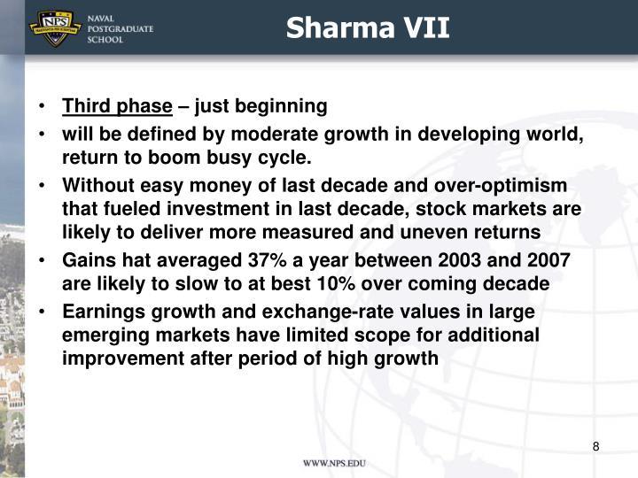 Sharma VII