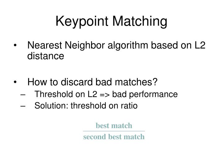 Keypoint Matching