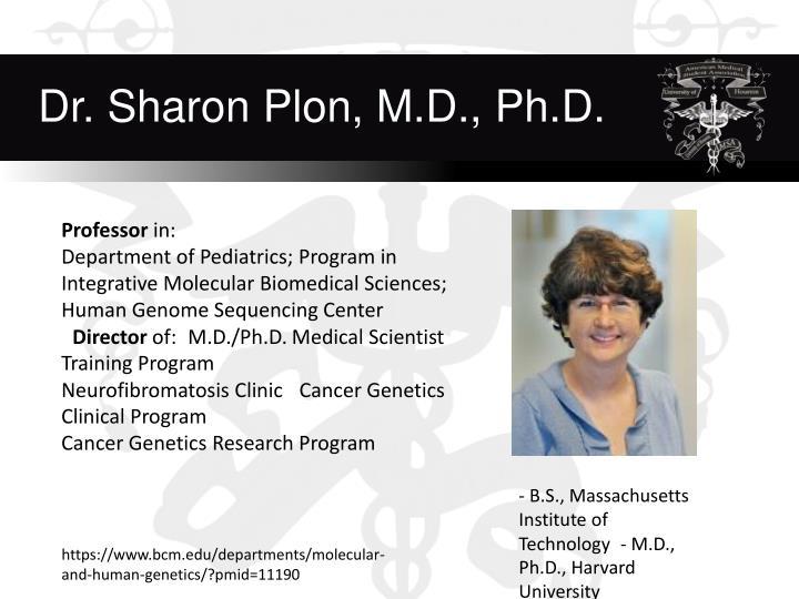 Dr. Sharon